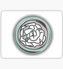 Dull rose Sticker