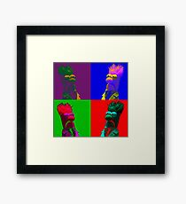 Beaker Pop Framed Print