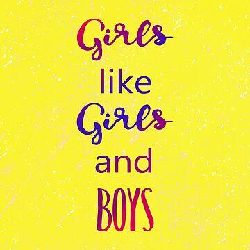 Girls Girls Boys by demonhatter