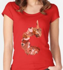 Carnelian Onix Variation  Women's Fitted Scoop T-Shirt
