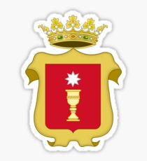 Coat of Arms of Cuenca, Spain Sticker