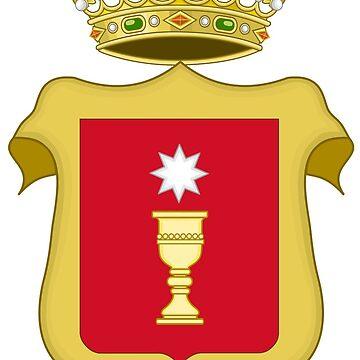 Coat of Arms of Cuenca, Spain by Tonbbo