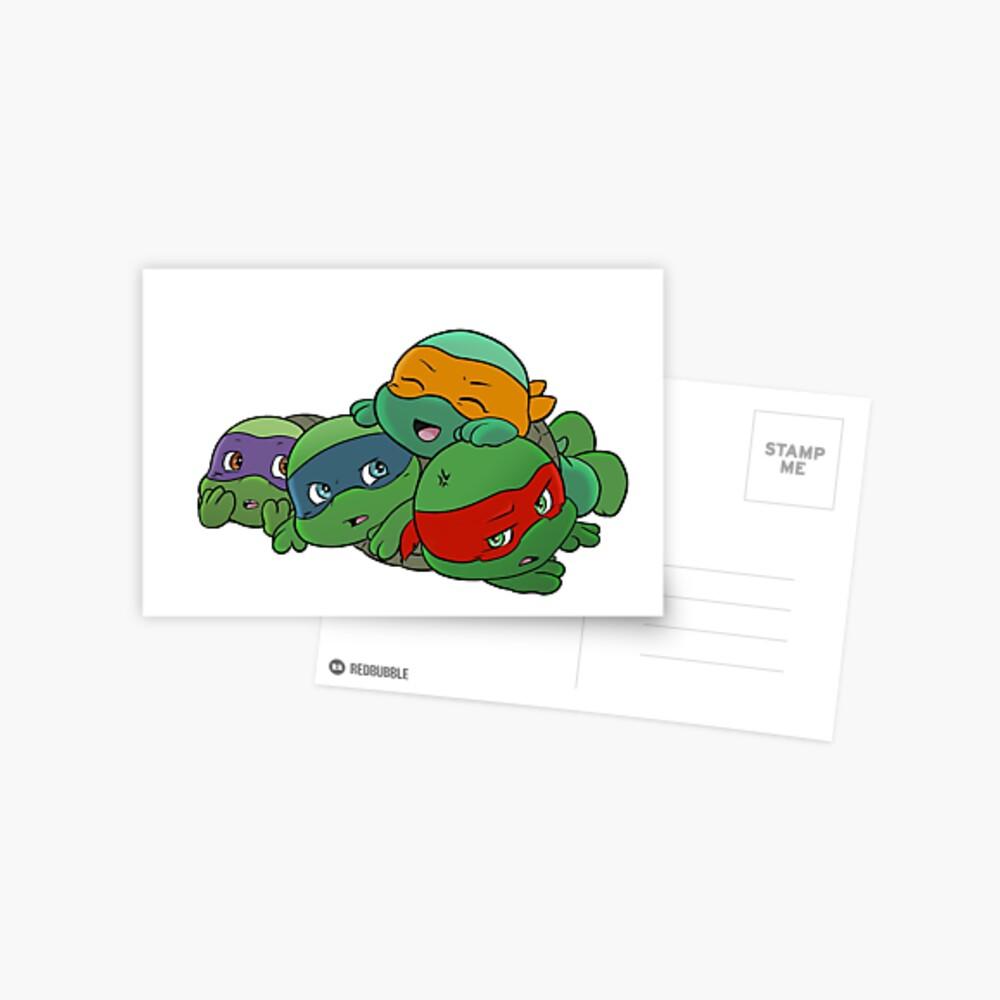 Turtle pile Postcard