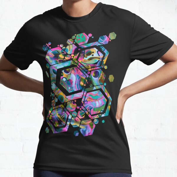 Starlight is Free (If You Live in Outer Space) - Watercolor Active T-Shirt