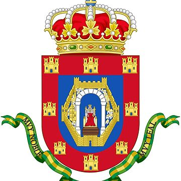 Coat of Arms of Ciudad Real, Spain by Tonbbo