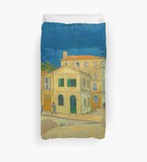 The Yellow House by Van Gogh Duvet Cover