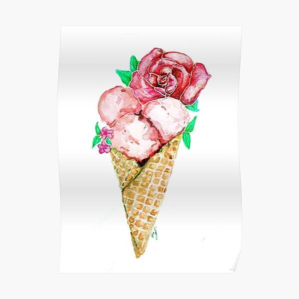 Ice Cream Bouquet Poster