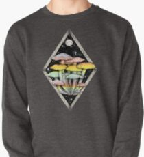 Rainbow Mushrooms || Psychedelic Illustration by Chrysta Kay Pullover