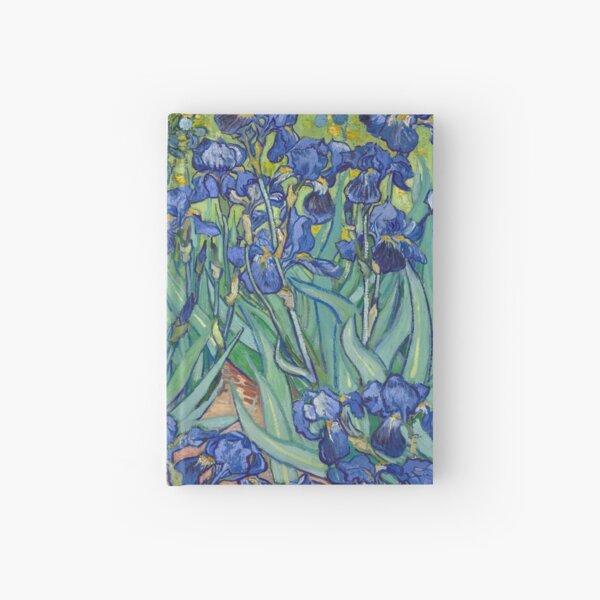 Irises by Vincent Van Gogh Hardcover Journal
