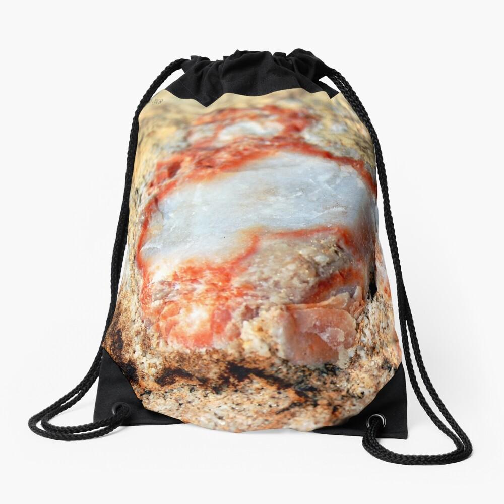 Quartz in Color Drawstring Bag