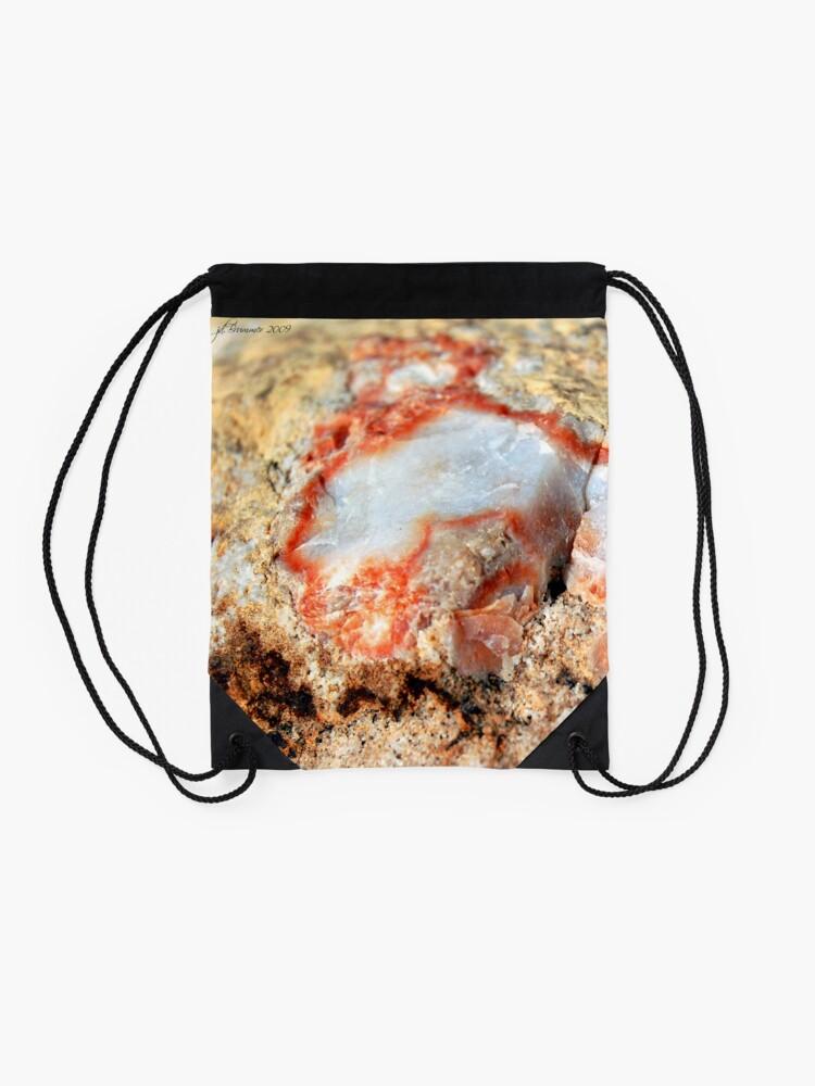 Alternate view of Quartz in Color Drawstring Bag