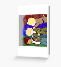 Nations Greeting Card