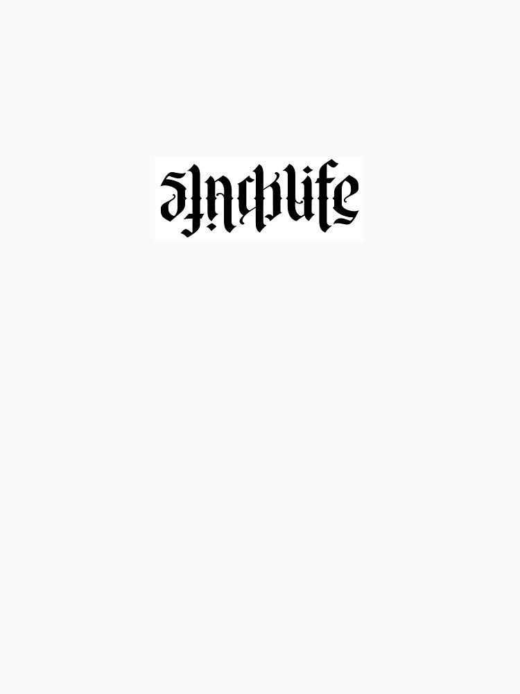 Slacklife- Holger Welsh Ambigram  by SlacklineBalAus