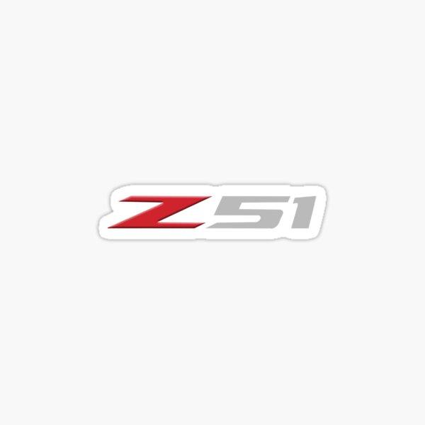 Z51 Corvette Sticker