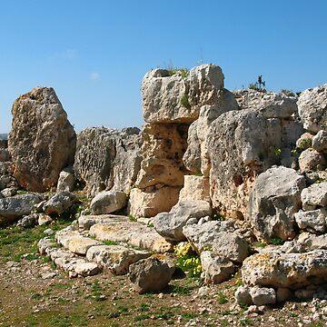 Ta' Hagrat Temples by DiveDJ