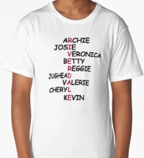 Riverdale Characters Long T-Shirt