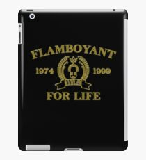 Flamboyant For Life iPad Case/Skin