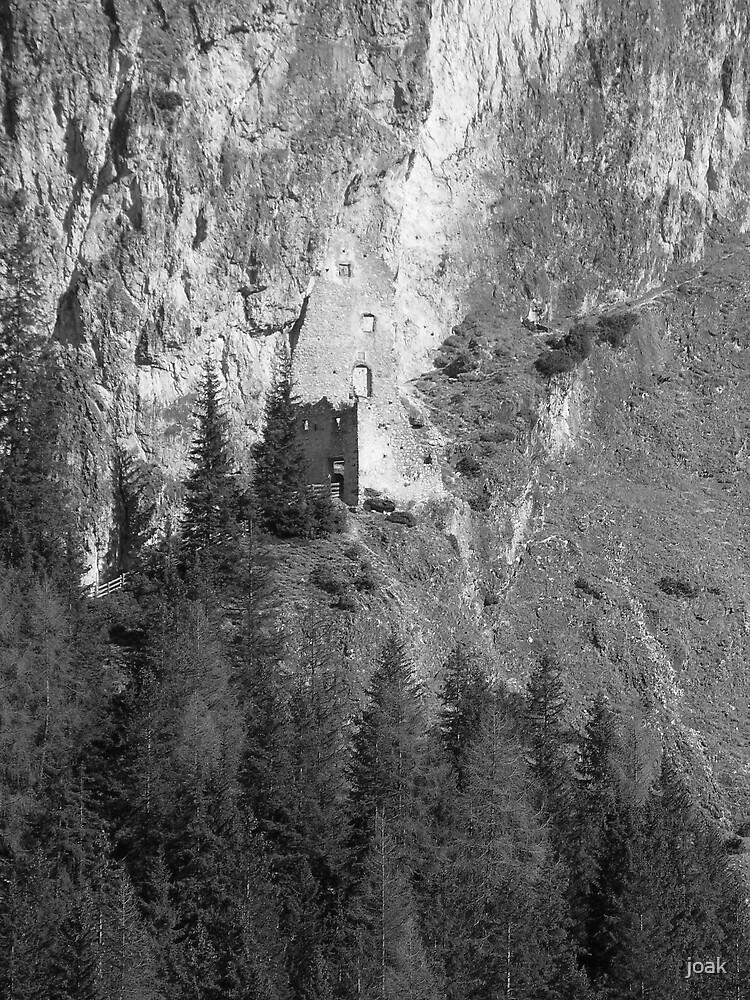 wolkenstien castle by joak