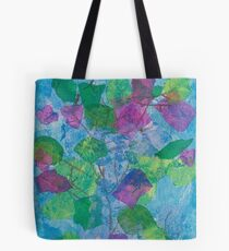 Paper Leaves Tote Bag