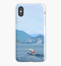 Lake Maggiore from Santa Caterina del Sasso iPhone Case/Skin