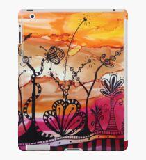 zany doodle-ink sunset iPad Case/Skin