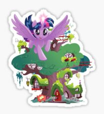 my little pony twilight sparkle home sweet home Sticker