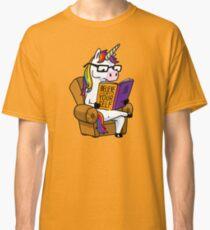 Unicorn Believe in Yourself Magical Fabulous Classic T-Shirt