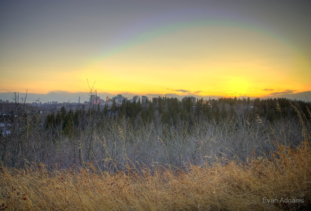 Edmonton Sunset (HDR) by Evan Adnams