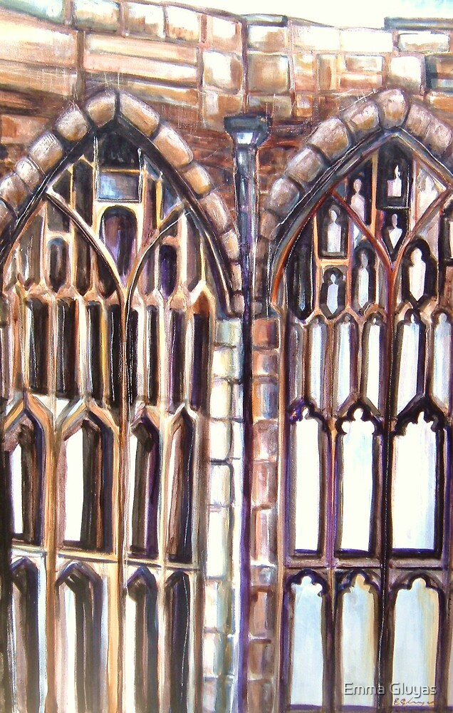 Coventry Catherdral Arches by Emma Gluyas