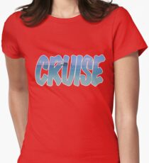 Cruise  Womens Fitted T-Shirt