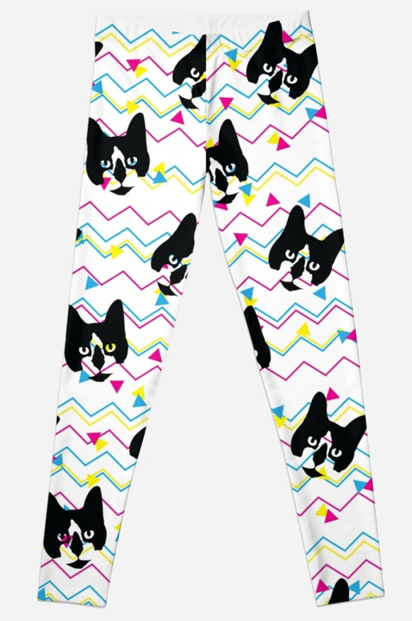 CMYK Kitty Pattern by Jess Emery