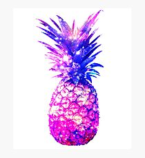 Space Pineapple Cosmic Universe Design Photographic Print
