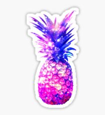 Space Pineapple Cosmic Universe Design Sticker
