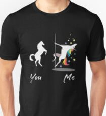 Cute Unicorn You Me  Unisex T-Shirt