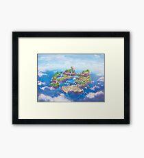 Dinosaur Land  Framed Print