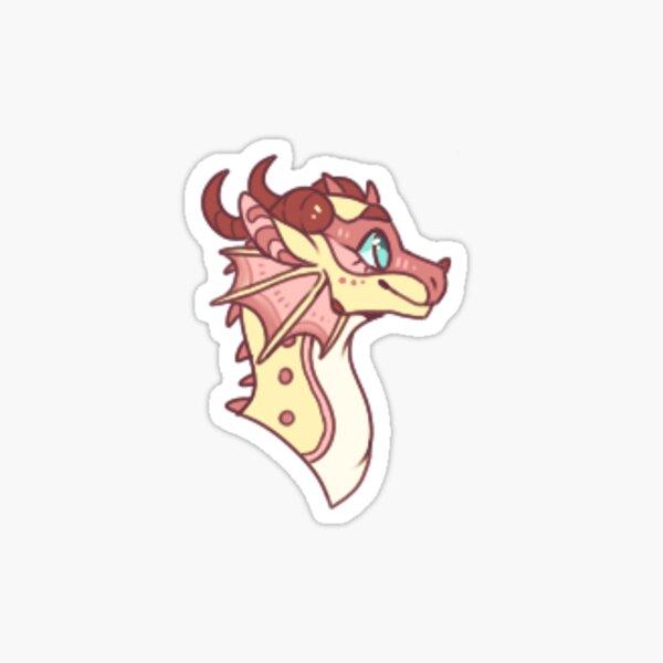 kinkajou ailes de feu Sticker