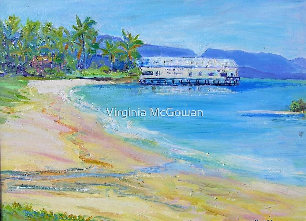 Old Ben Cropp Marine Museum Port Douglas by Virginia McGowan