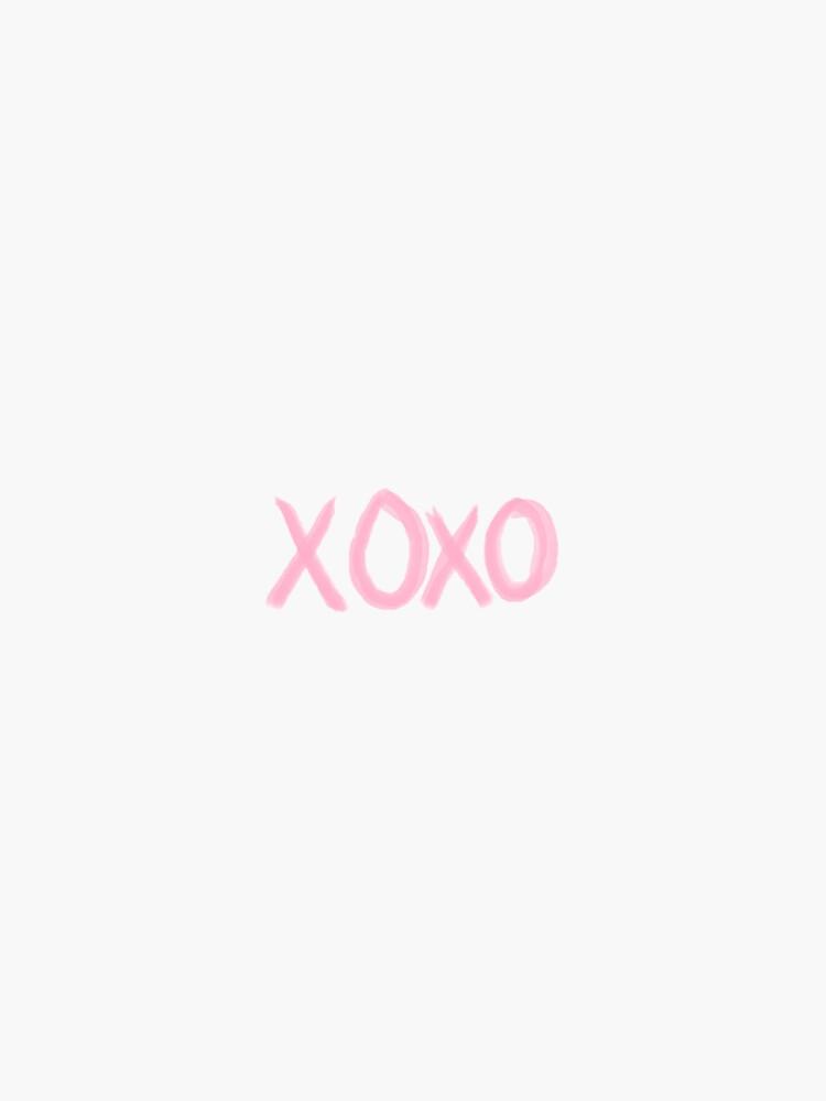 xoxo pink  by stickerzaf