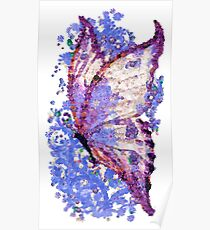 Magic butterfly  - Mariposa mágica Poster