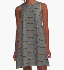 Lazy Sloth A-Line Dress