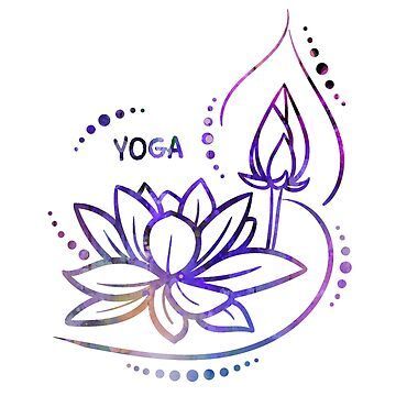 Yoga, Lotus Flower by Jeditwins