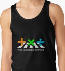 Sheerio-Effect Design Crosswalk Tank Top