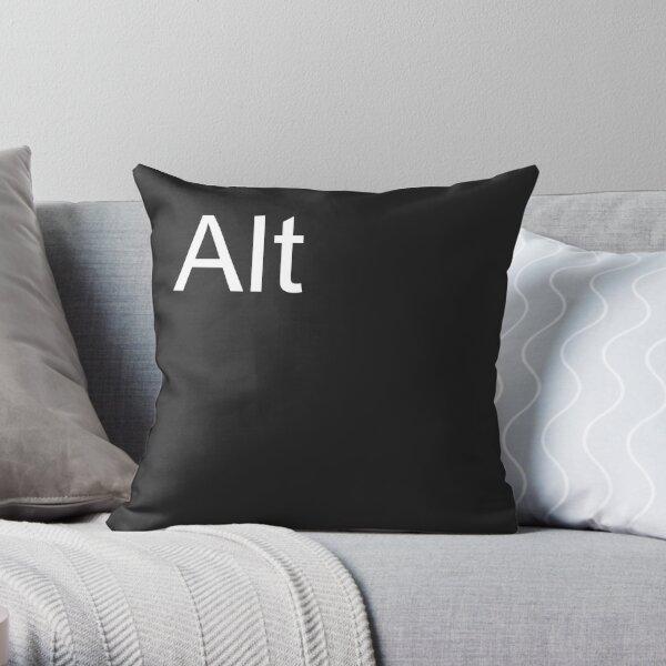 Alt Pillow in Black Throw Pillow