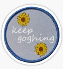 Motivational Van Gogh Pun Sticker