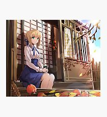 Saber, Fate / Series Photographic Print