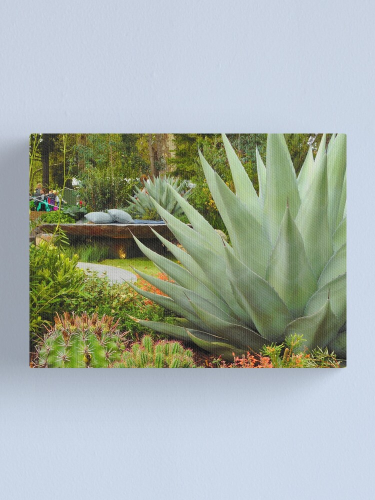 Alternate view of Tropical Garden Canvas Print