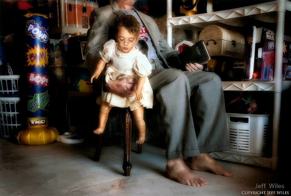 The babysitter. by Jeff  Wiles