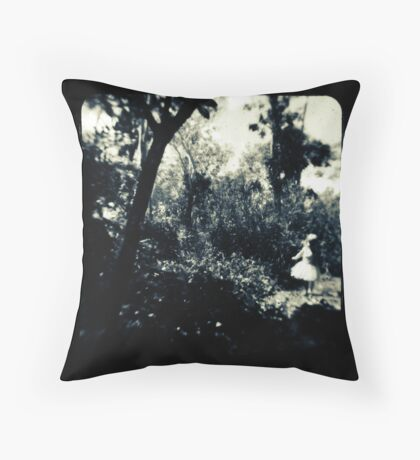 Faerie Queen Throw Pillow