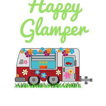 Happy Glamper Camper By Shelley321