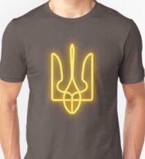 Yellow neon trident Unisex T-Shirt